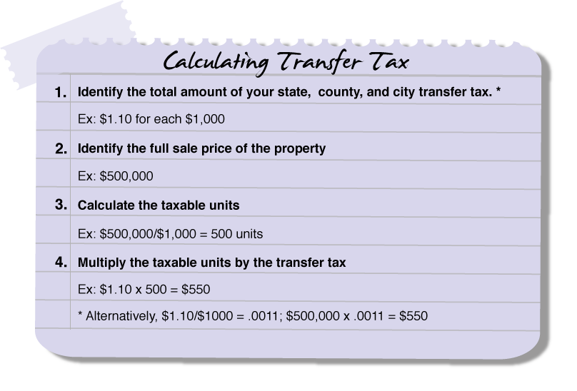 Transfer Tax Who Pays What In Alameda County