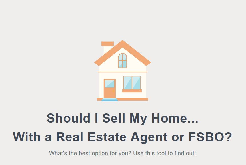 real estate agent vs FSBO tool