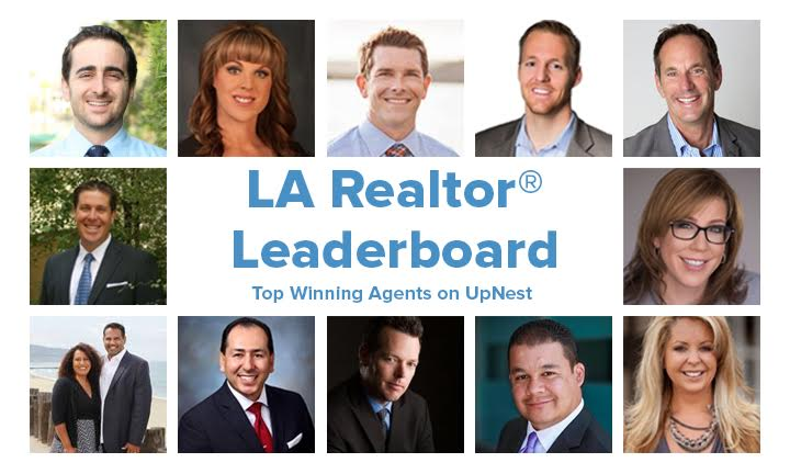 Announcing The 2016 Los Angeles UpNest Real Estate Agents Leaderboard