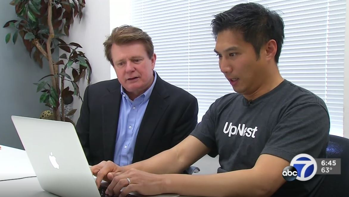 UpNest Featured on ABC 7 News – 7 On Your Side
